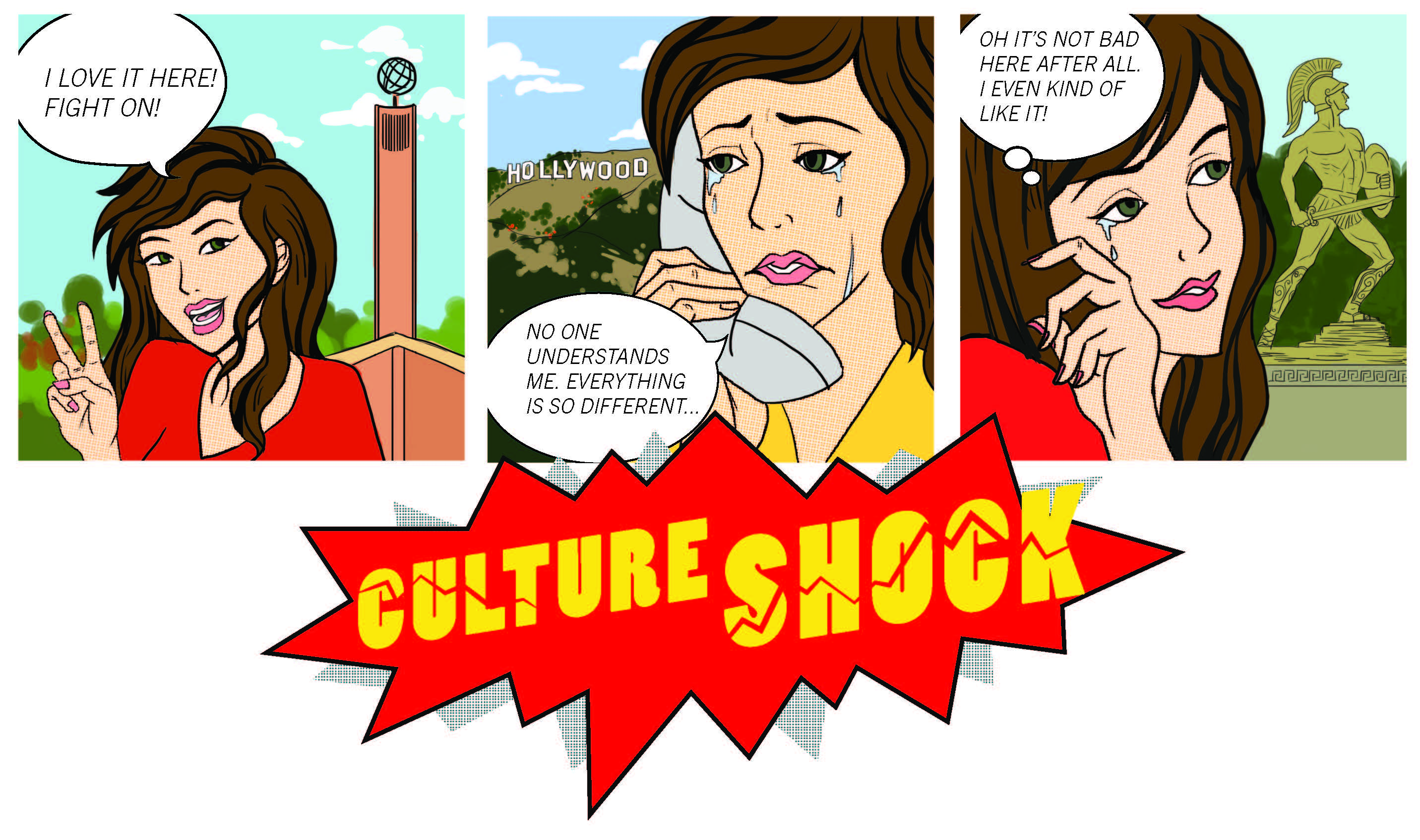 Confused clipart culture shock. The nasty and noble