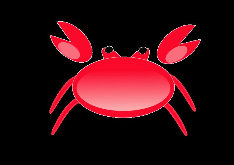 crab clipart watercolor