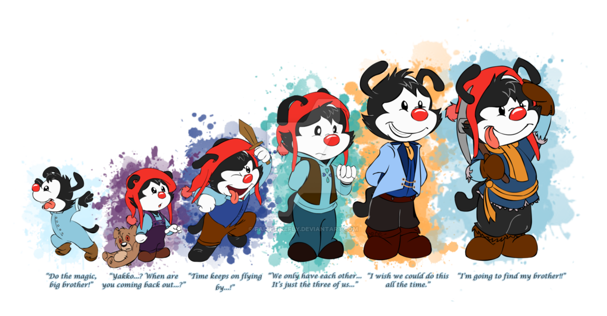 Confused clipart frustrated parent. Frozen animaniacs au the