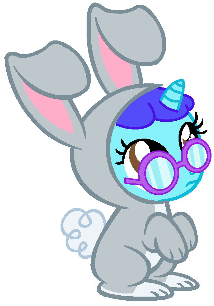 Confused clipart iconic. Mlp fim mouse bunny