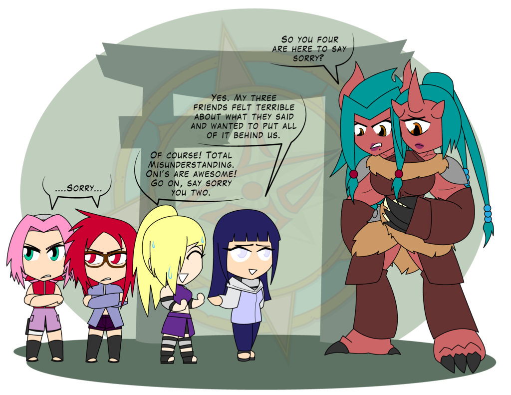 Never compliment an oni. Confused clipart misunderstanding