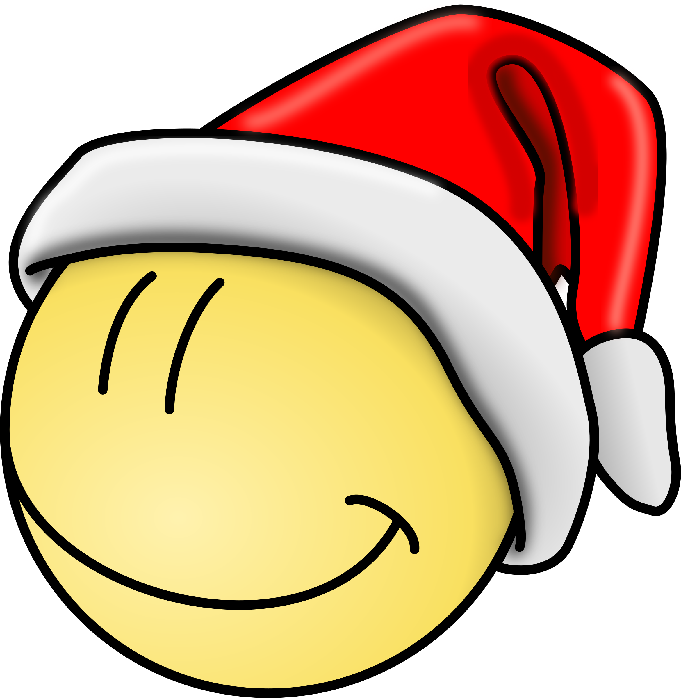 Cool clipart christmas. Smily face big image