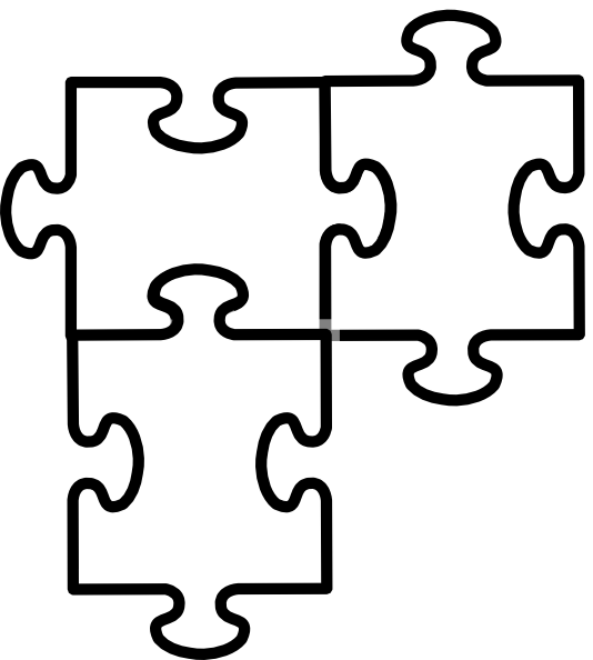 Puzzle clipart puzzle pattern. Pieces drawing at getdrawings