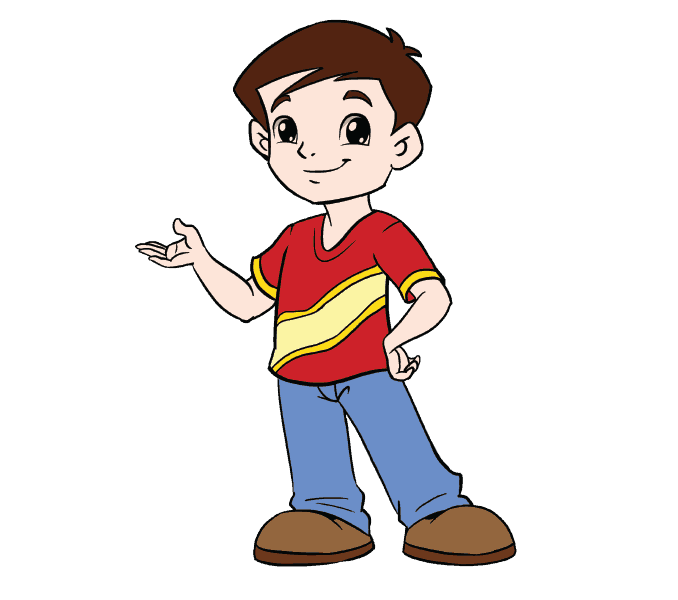 Cartoon drawing at getdrawings. Teen clipart youth boy