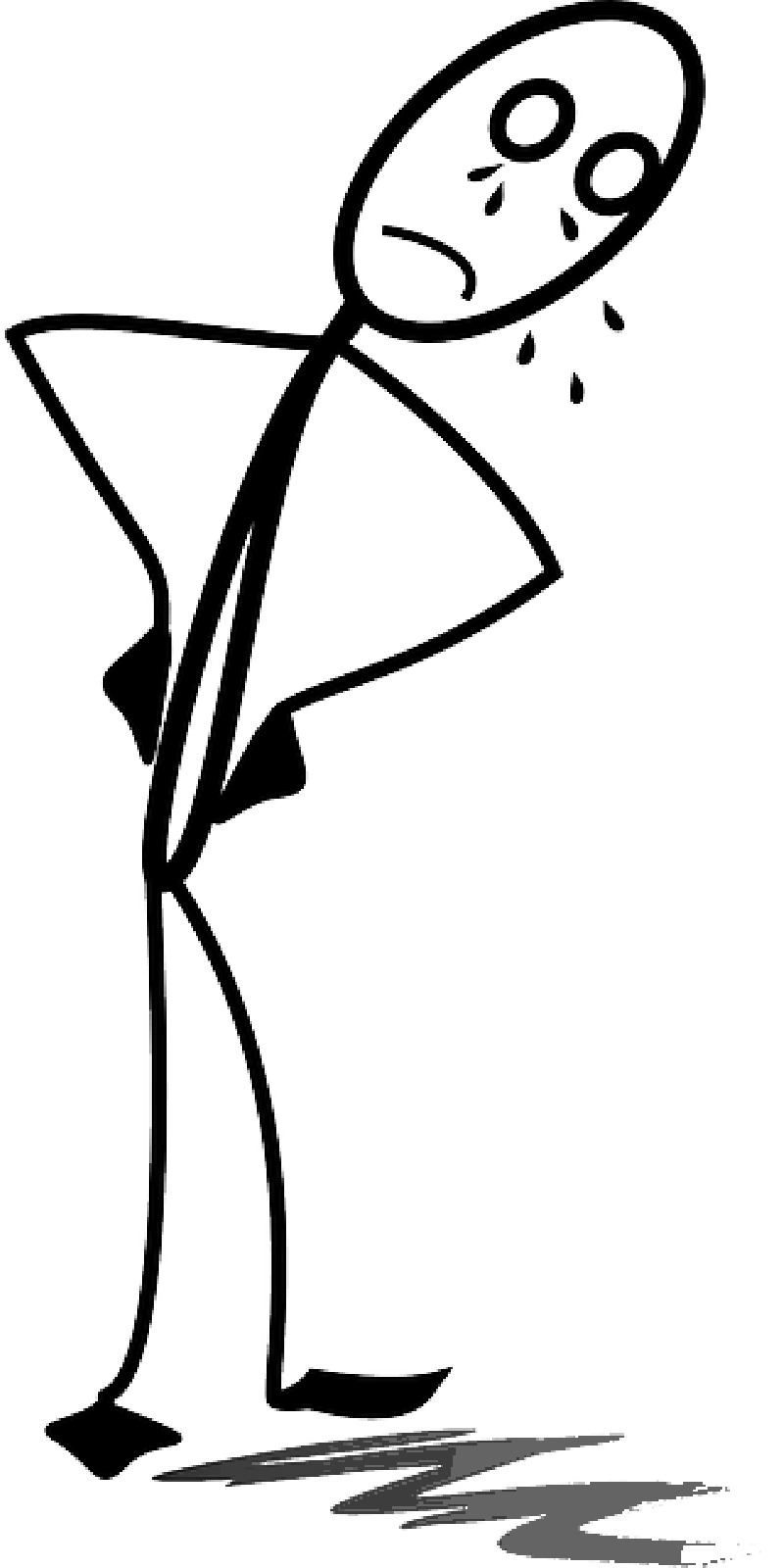 About stickmancrymansadstickfigurematchstickman. Depression clipart black and white