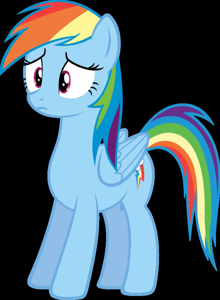 Whut rainbow dash version. Confused clipart student upset