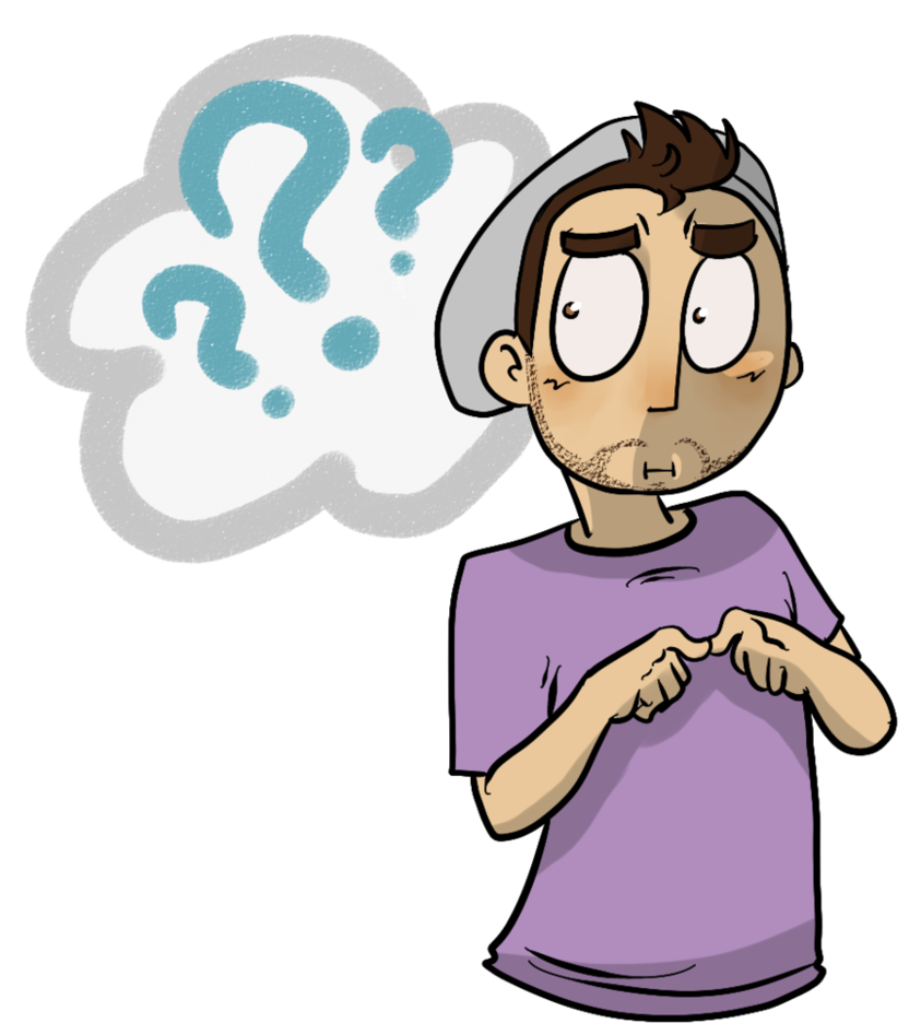 Confused clipart student upset. Cartoon face group sly