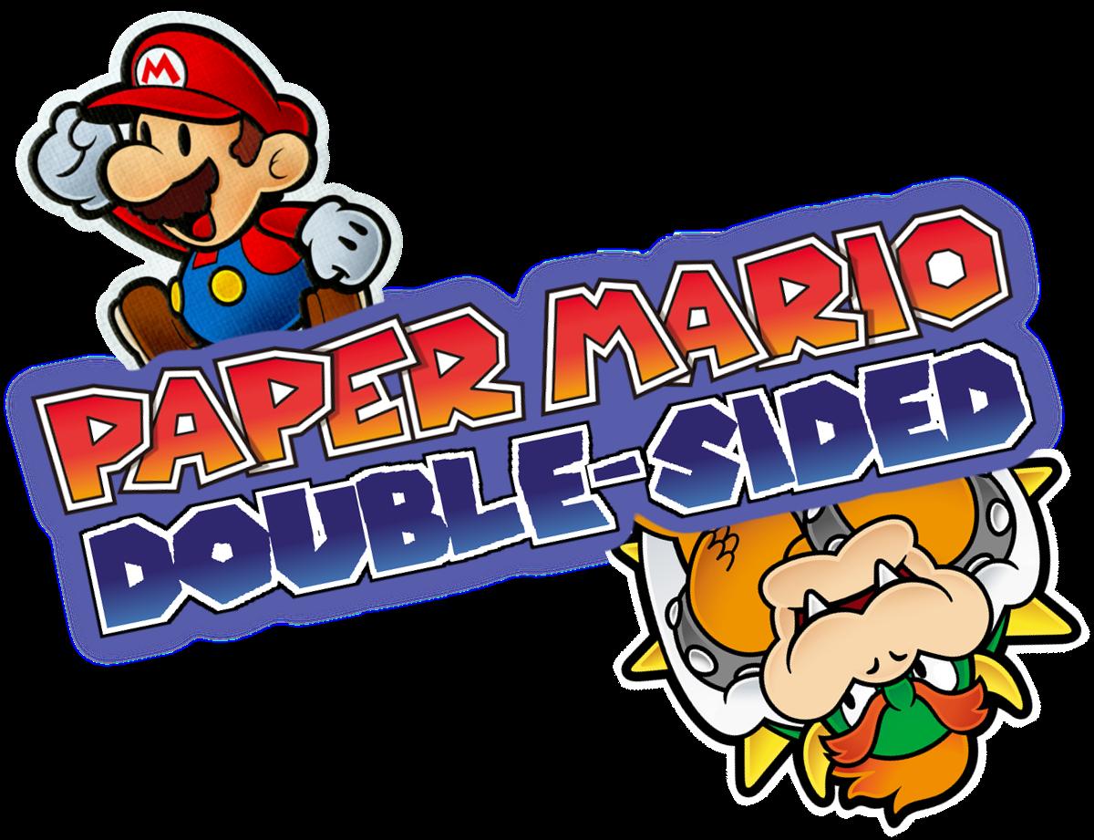 Paper mario double sided. Peanut clipart underworld