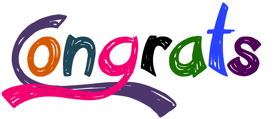 Congratulations clipart banner. Transparent png pictures free