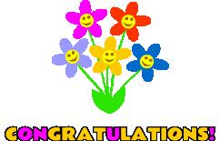 Free pictures clipartix . Congratulations clipart congrats