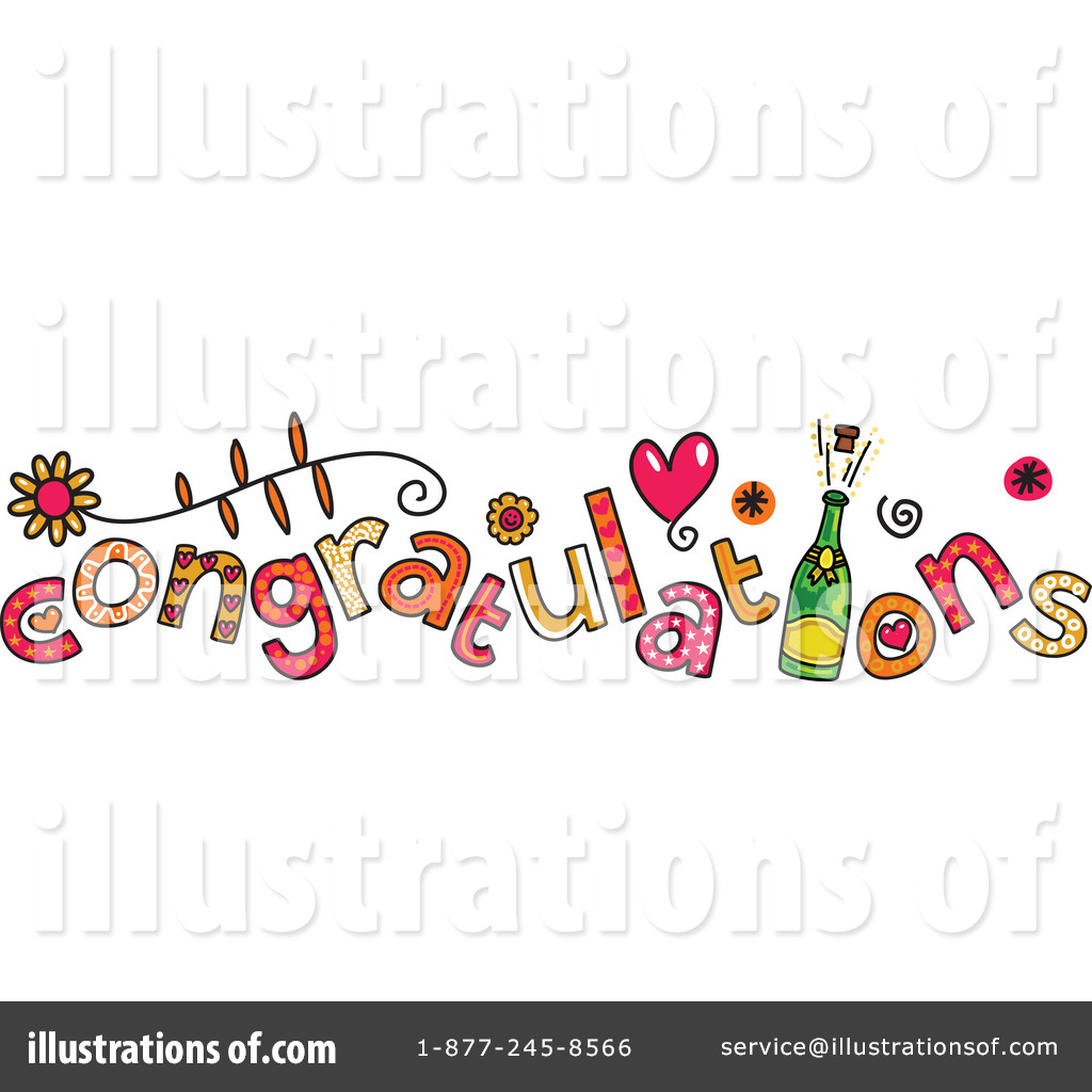 Congratulations clipart congratulation word. Illustration by prawny