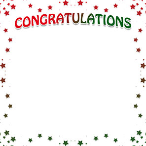 Congratulations clipart frame. Free cliparts borders download