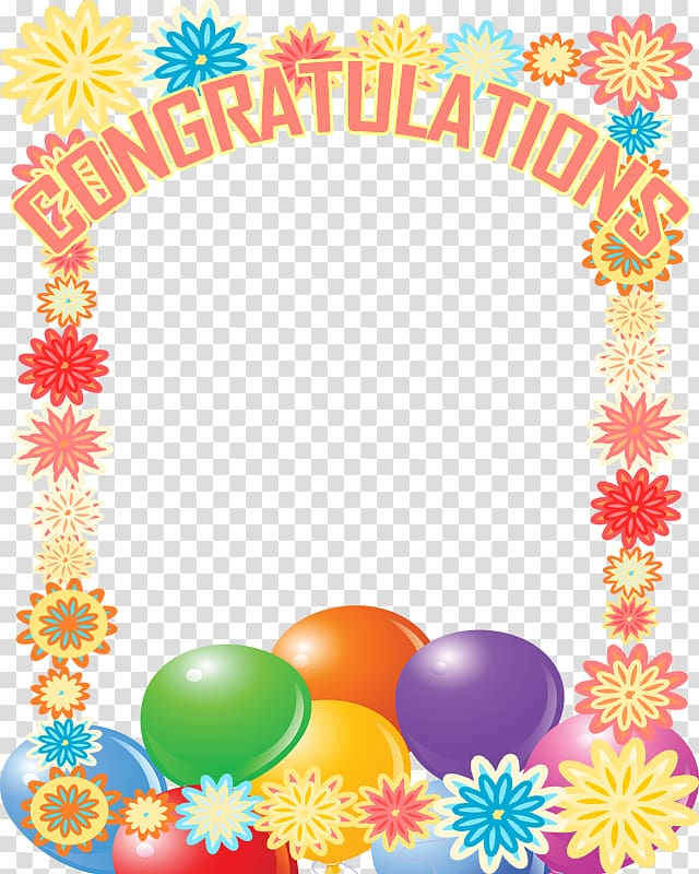 Rectangular multicolored congratulation frames. Congratulations clipart frame