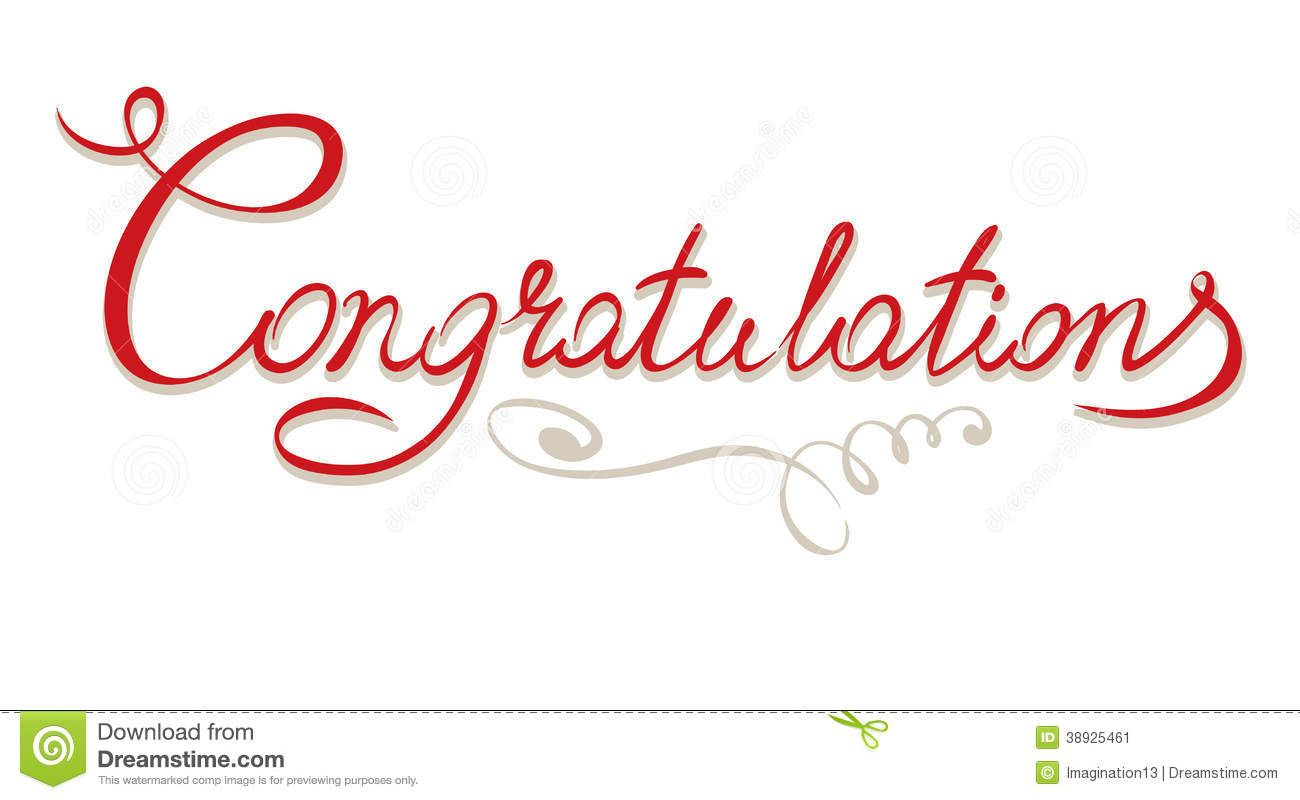 Title download from over. Congratulations clipart free vector
