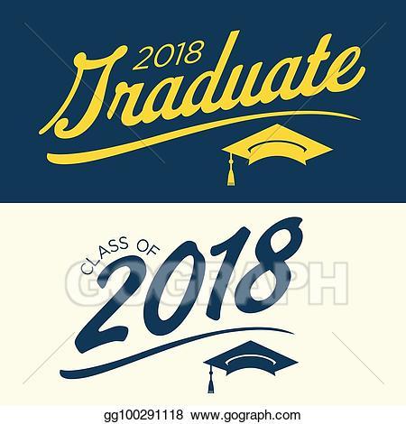 Clip art vector class. Congratulations clipart graduate 2018