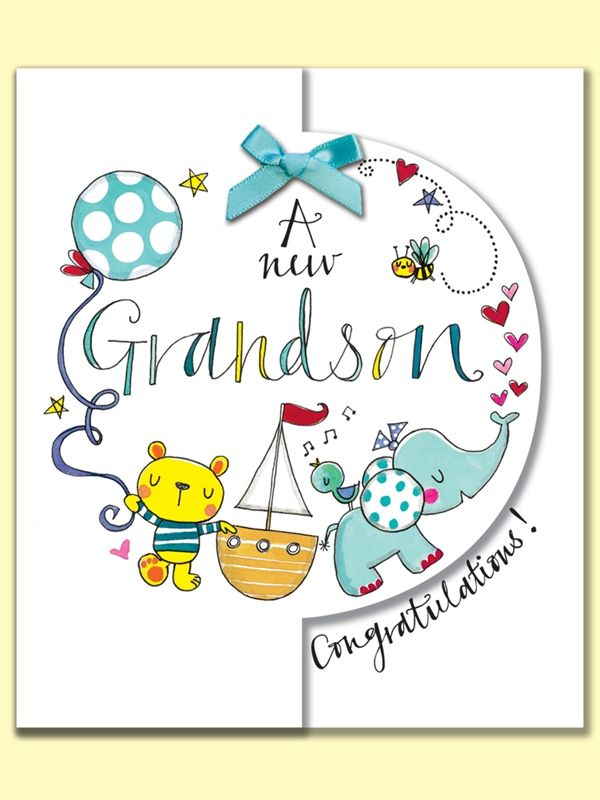Congratulations clipart grandma. A new grandson greeting