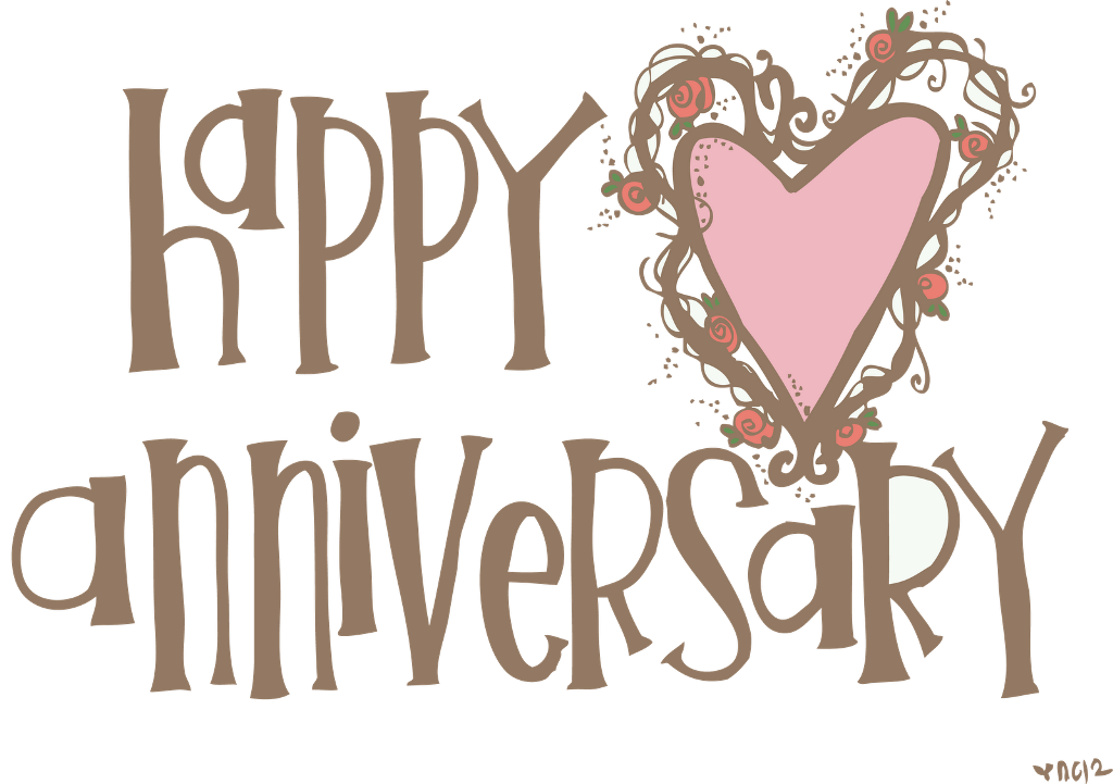 Free clipart february. Happy anniversary wishes desicomments