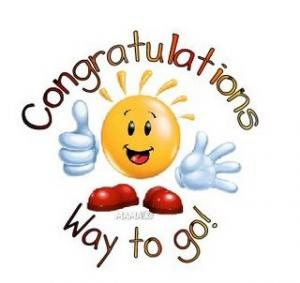 Celebration clip art . Congratulations clipart kindergarten