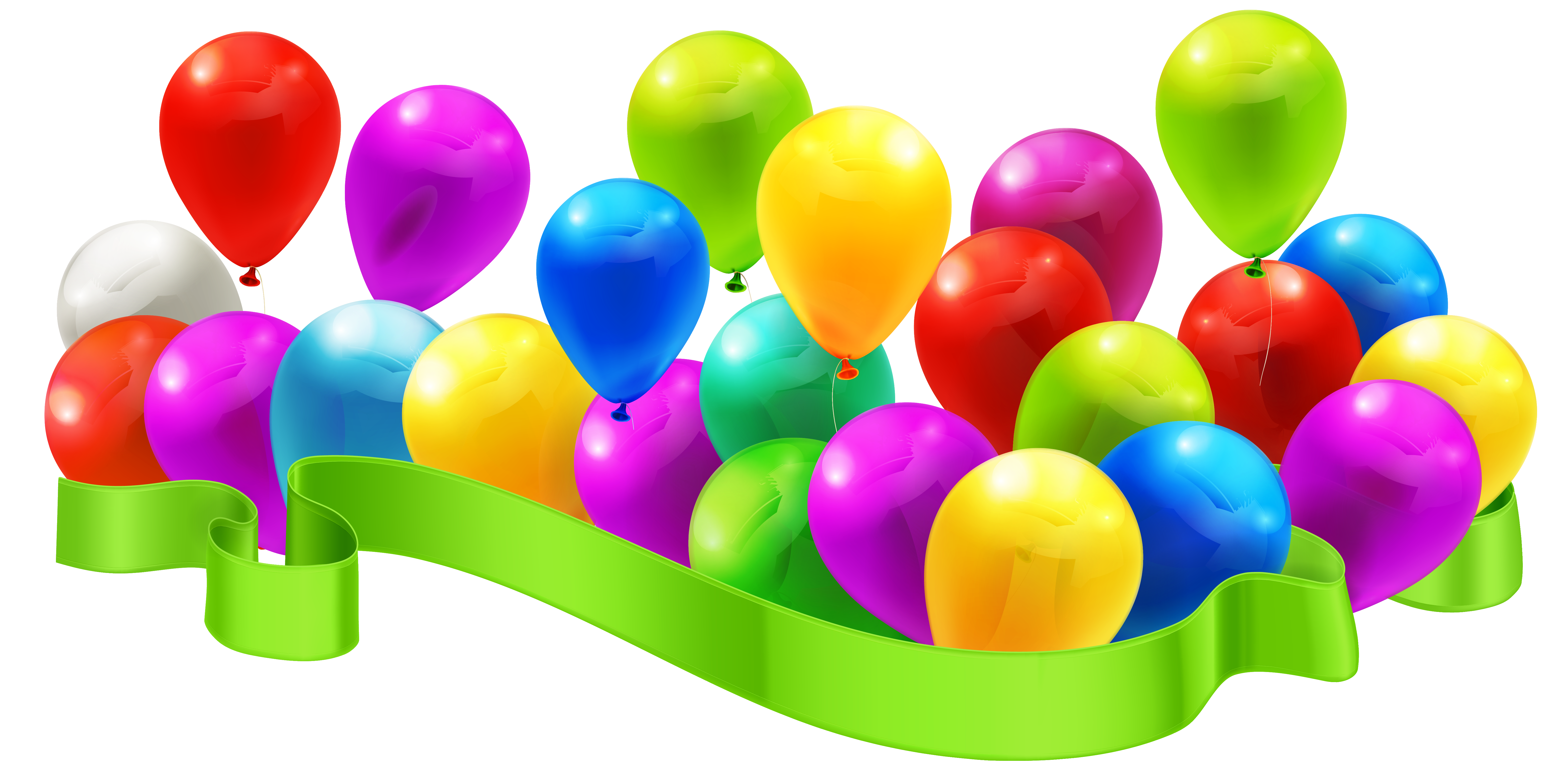 Balloon decoration png image. Congratulations clipart manager