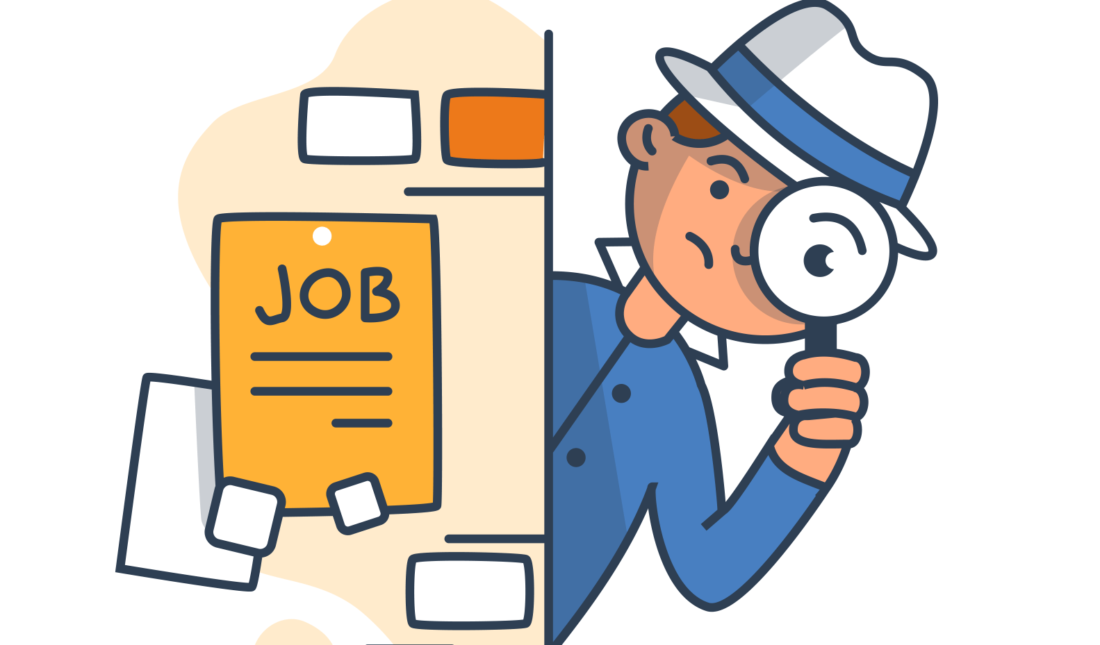 Jobs clipart job hunt. How to apply for