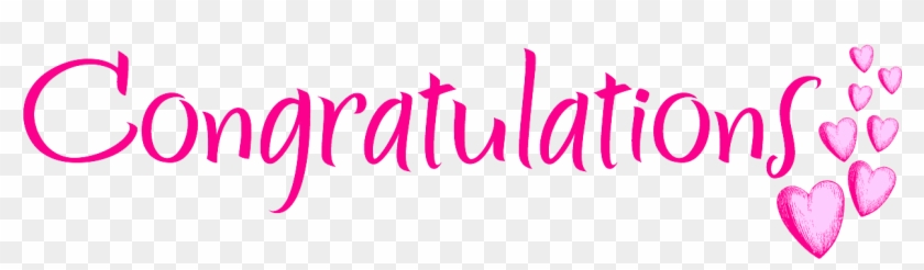 Congratulations clipart pink. Free png