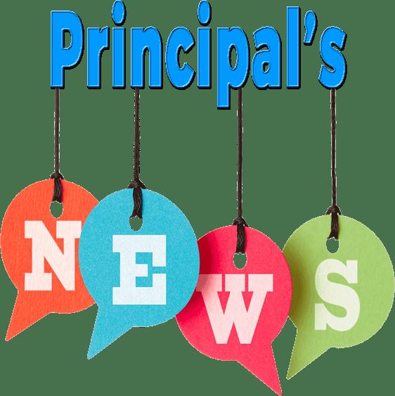 Principal s news . Congratulations clipart principal's