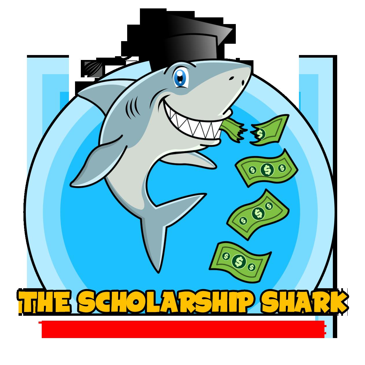 Podcast the shark. Congratulations clipart scholarship recipient
