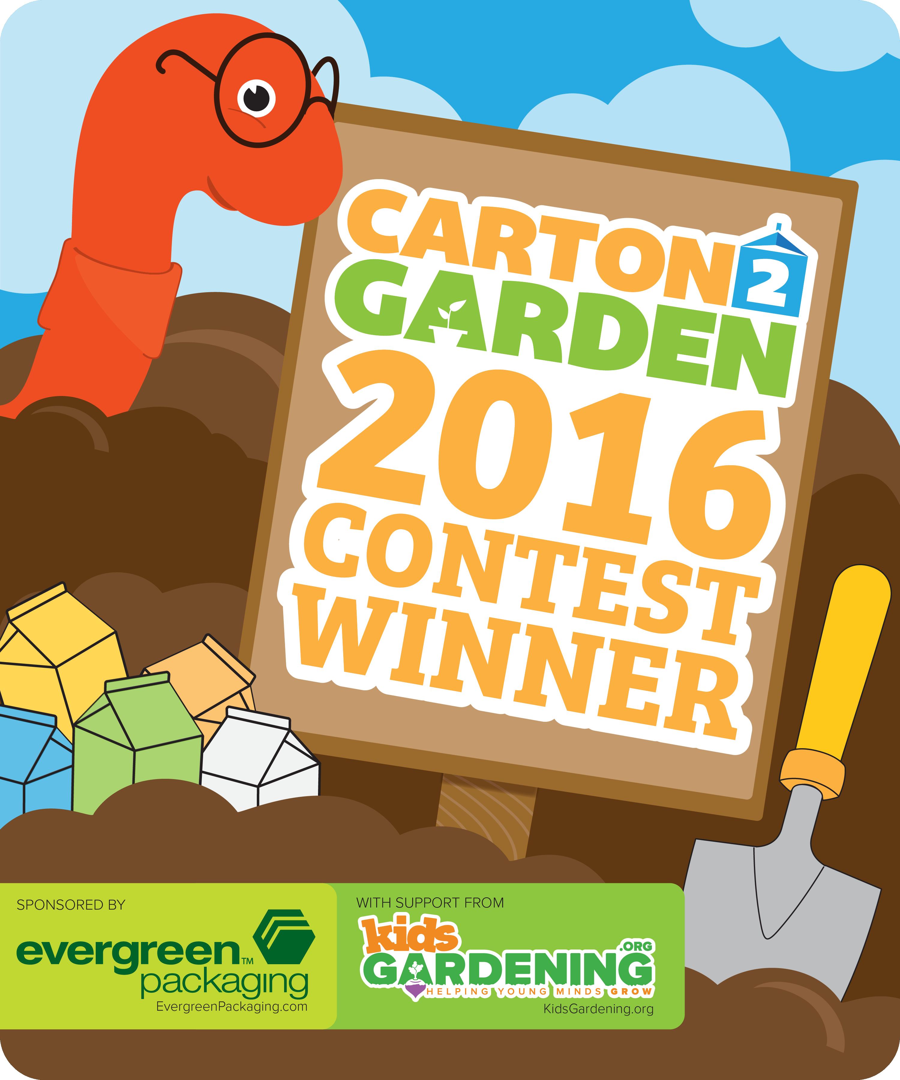 carton contest winners. Environment clipart school garden