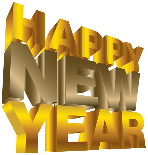 Happy new year png. Congratulations clipart small gold star