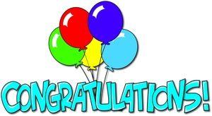 Congratulations clipart sticker. Free images image congrats