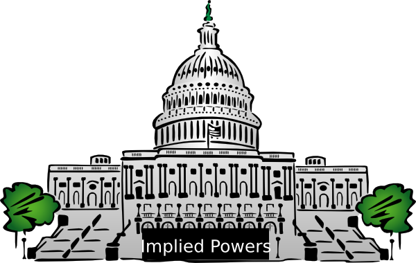 Congress clipart. Implied powers clip art