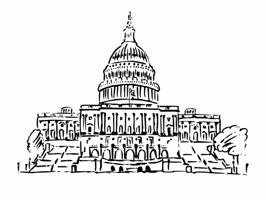 United states white house. Congress clipart capitol texas