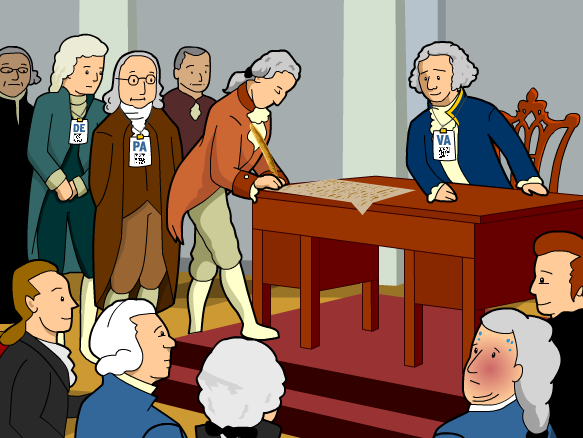 President clipart constitutional convention. Brainpop