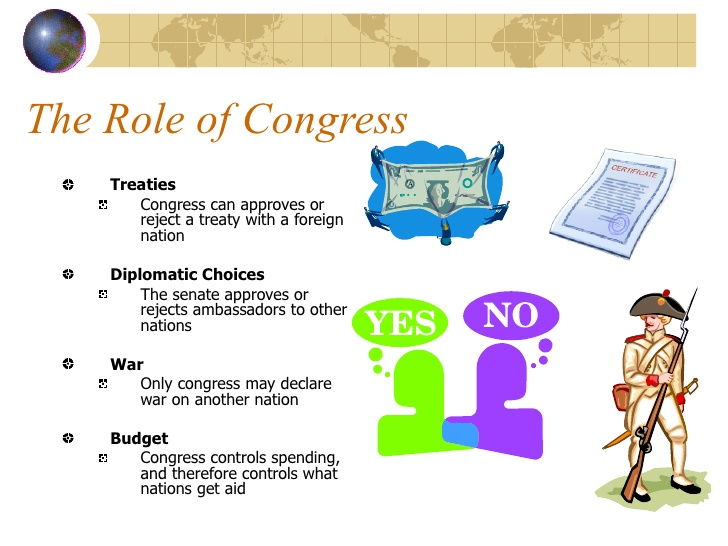 Congress clipart foreign policy. And u s