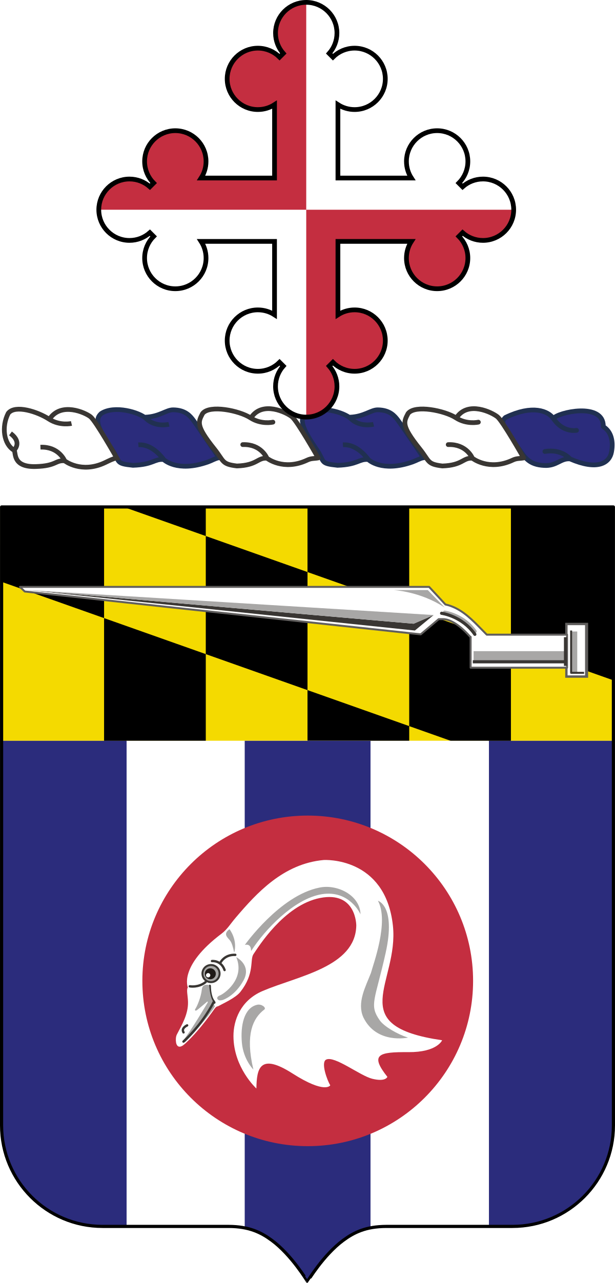 Streamers clipart silver.  th infantry regiment