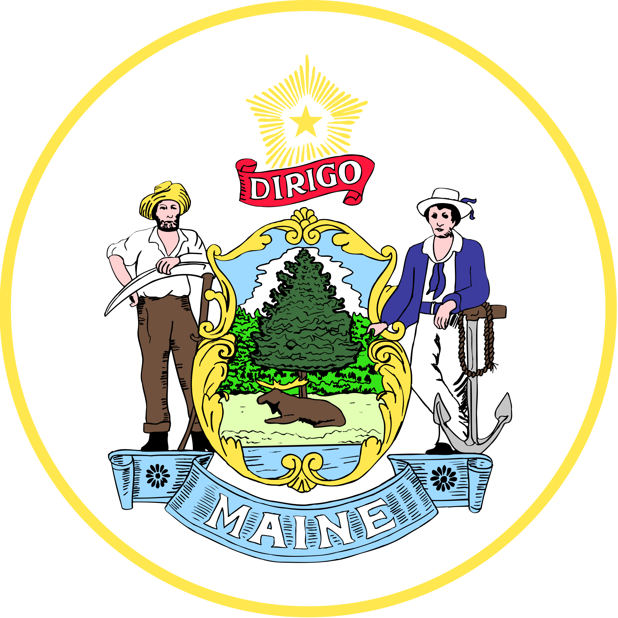 Maine wikipedia. Democracy clipart bicameral legislature