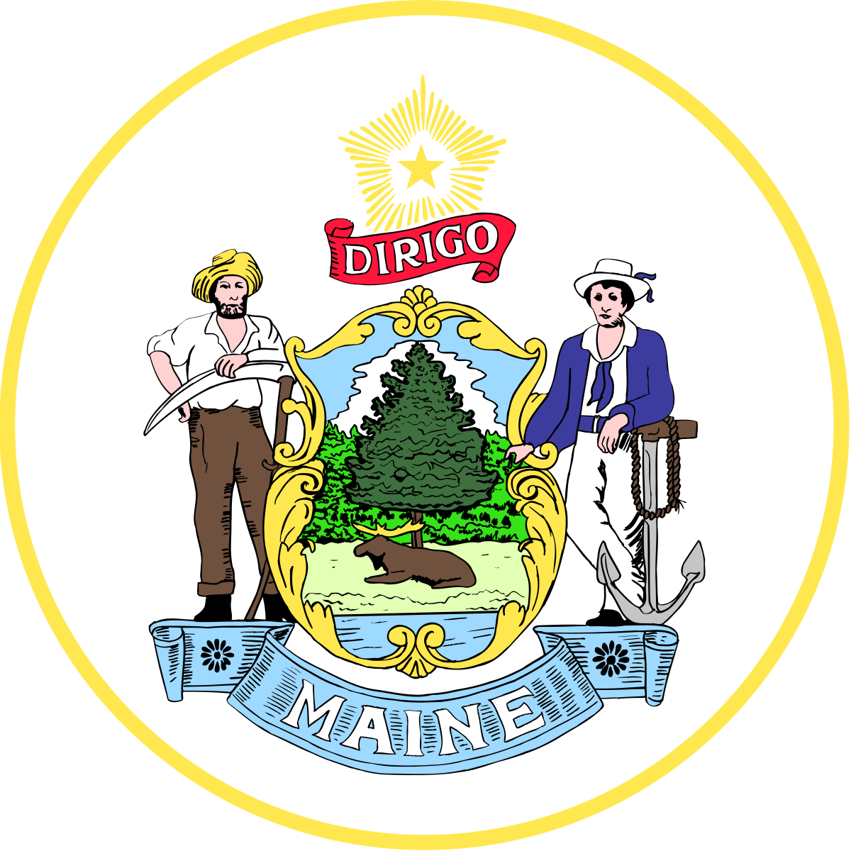 Maine house of representatives. Voting clipart majority rule