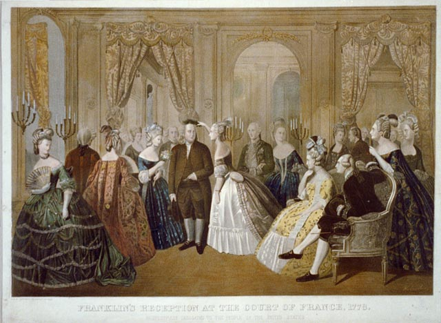 Of benjamin franklin in. Congress clipart paris treaty