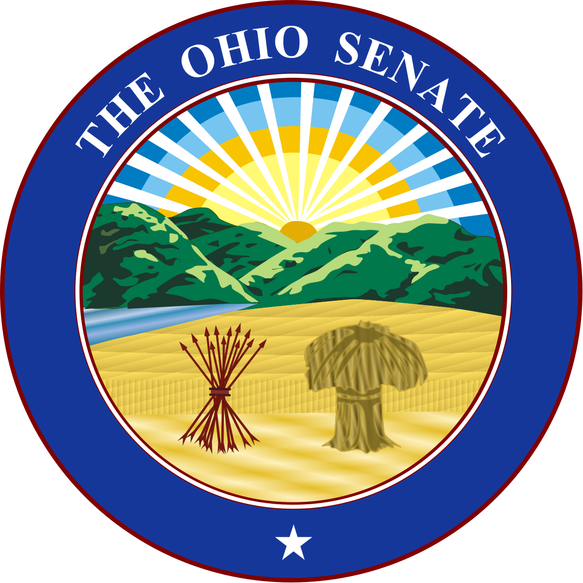 Ohio senate wikipedia . Voting clipart senator