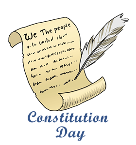 Tweets facts quotes activities. History clipart constitution day