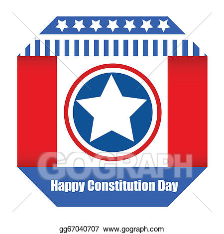 Constitution clipart paper. Vector banner day