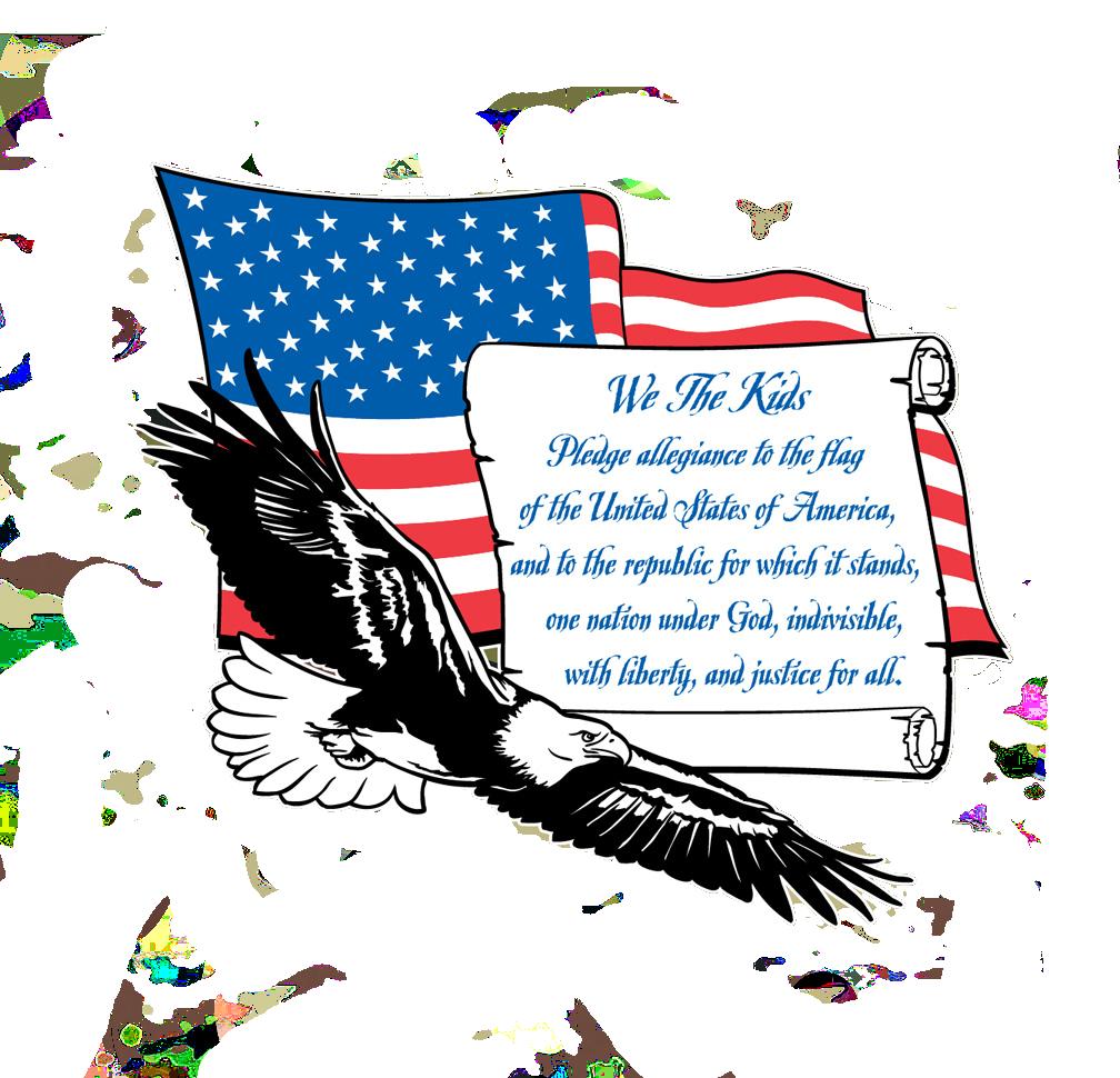 Flags clipart patriotic. Teach your kids flag