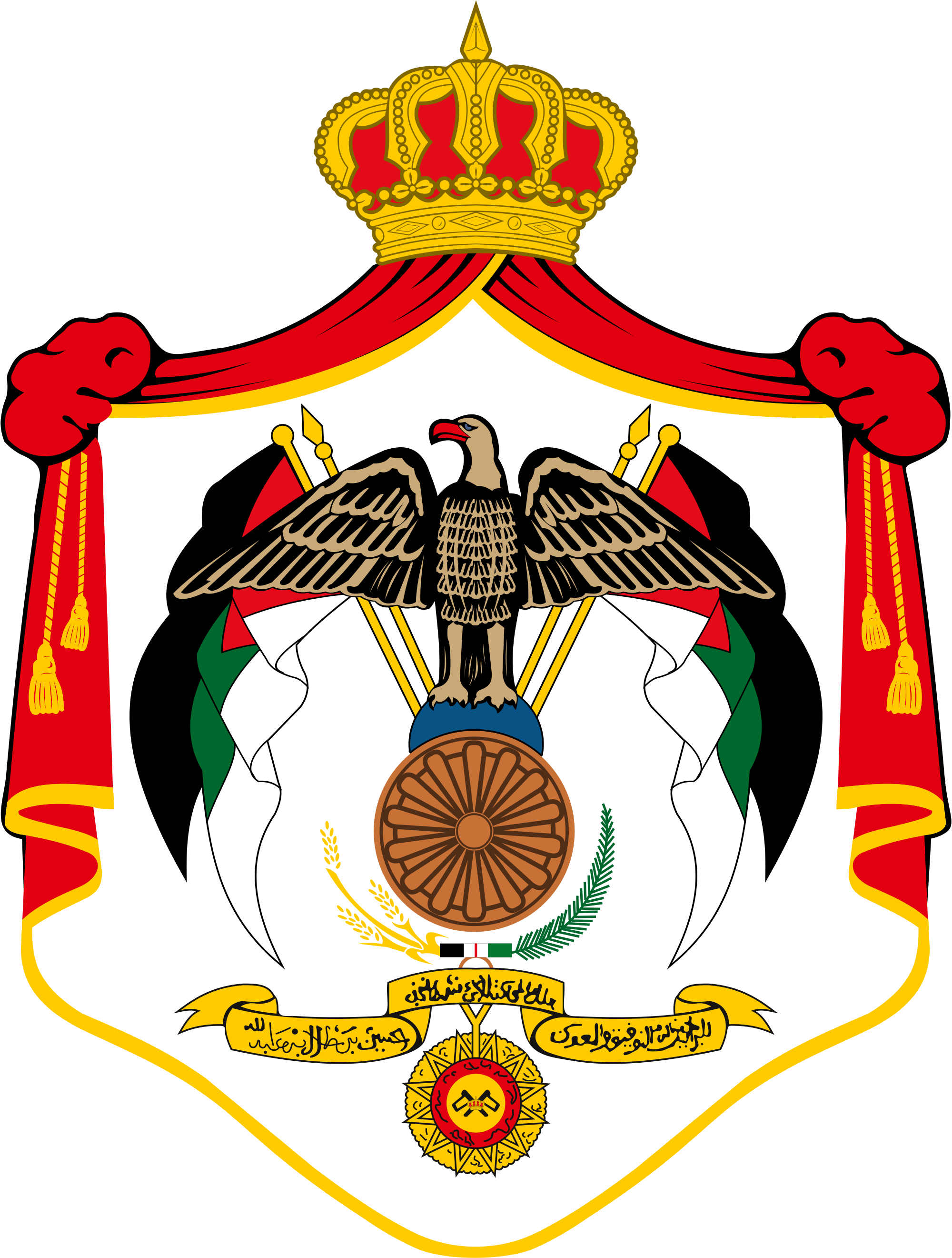 Abdullah ii of jordan. Palace clipart arabic