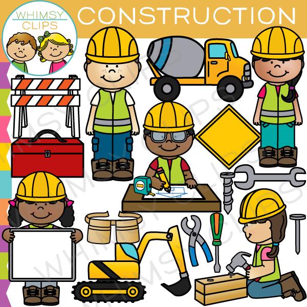Construction clipart. Kids clip art images