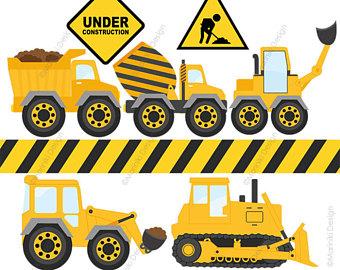 Construction clipart. Etsy under constructions clip