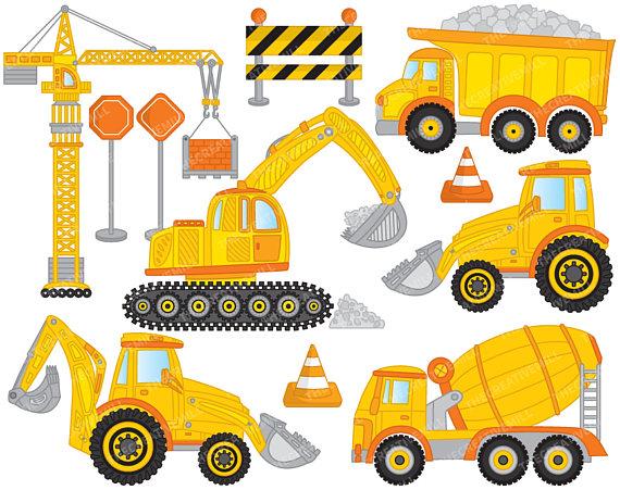 Vector crane . Construction clipart