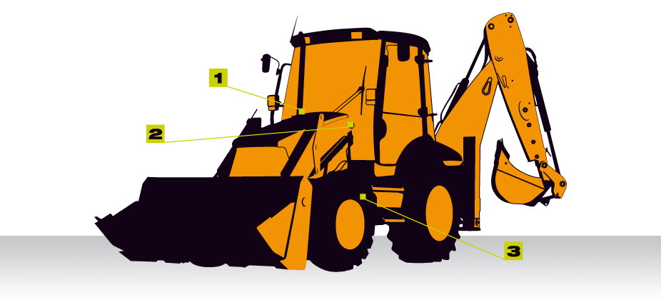 Bucket scale for the. Excavator clipart loader