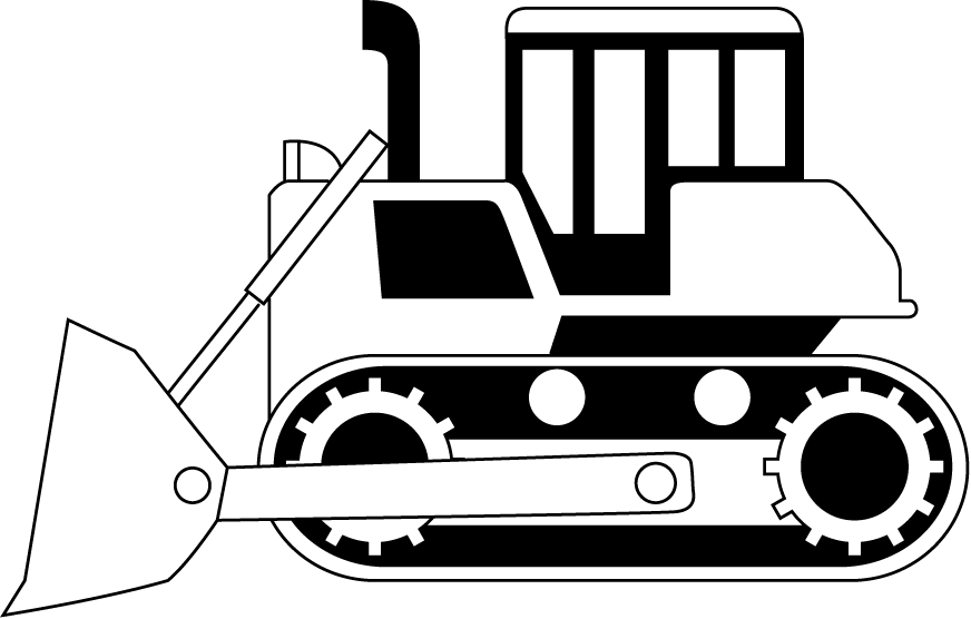 collection of construction. Engineer clipart black and white