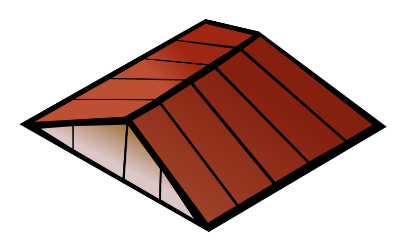 Gun clipart roofing. Roof construction clipground house