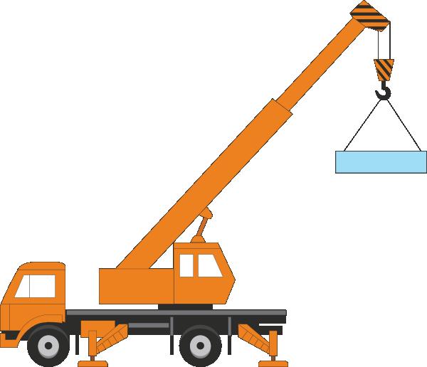 Crane clipart construction equipment. Clip art at clker